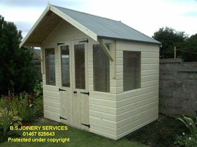 Sun Chalet with 2 ft Canopy & Double doors